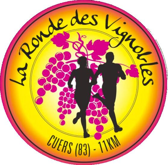 logo la ronde des vignobles cuers course festive